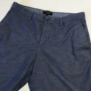 Banana Republic aiden shorts in blue heather